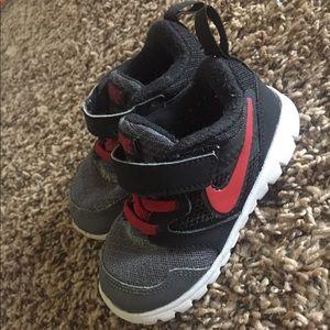 2 pairs toddler Nikes size 6